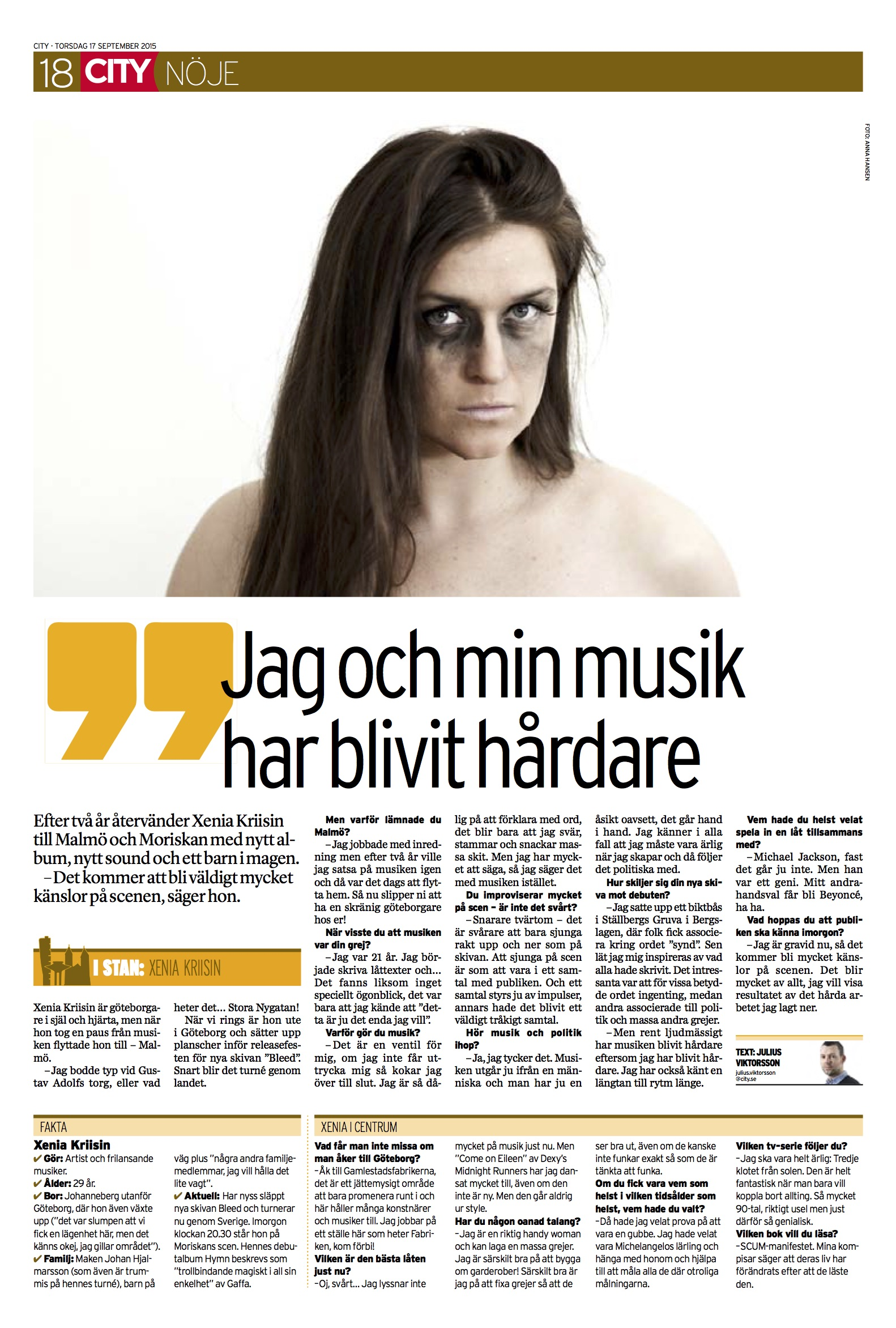 City Malmö intervju - Xenia Kriisin.jpg