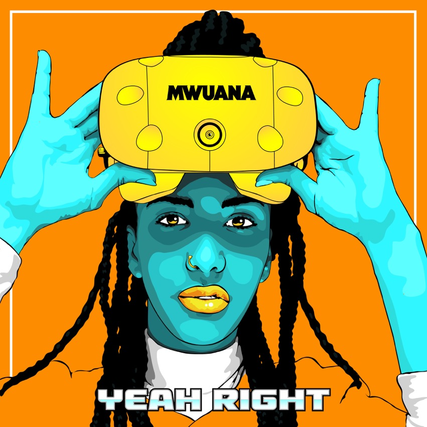 """Omslaget till Mwuana """"Yeah Right"""""""