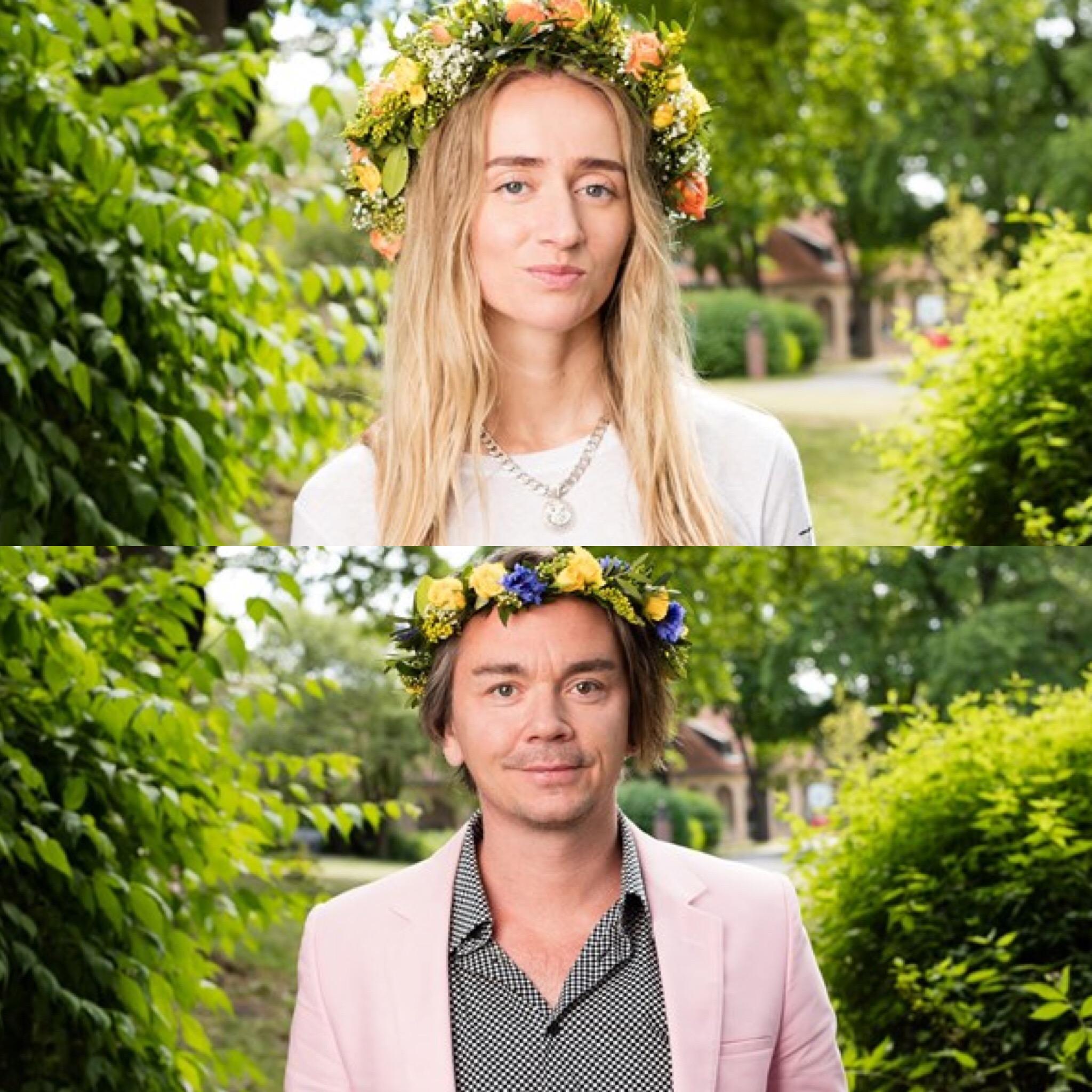 Silvana Imam, Emil Jensen (Foto: Mattias Ahlm/Sveriges Radio)