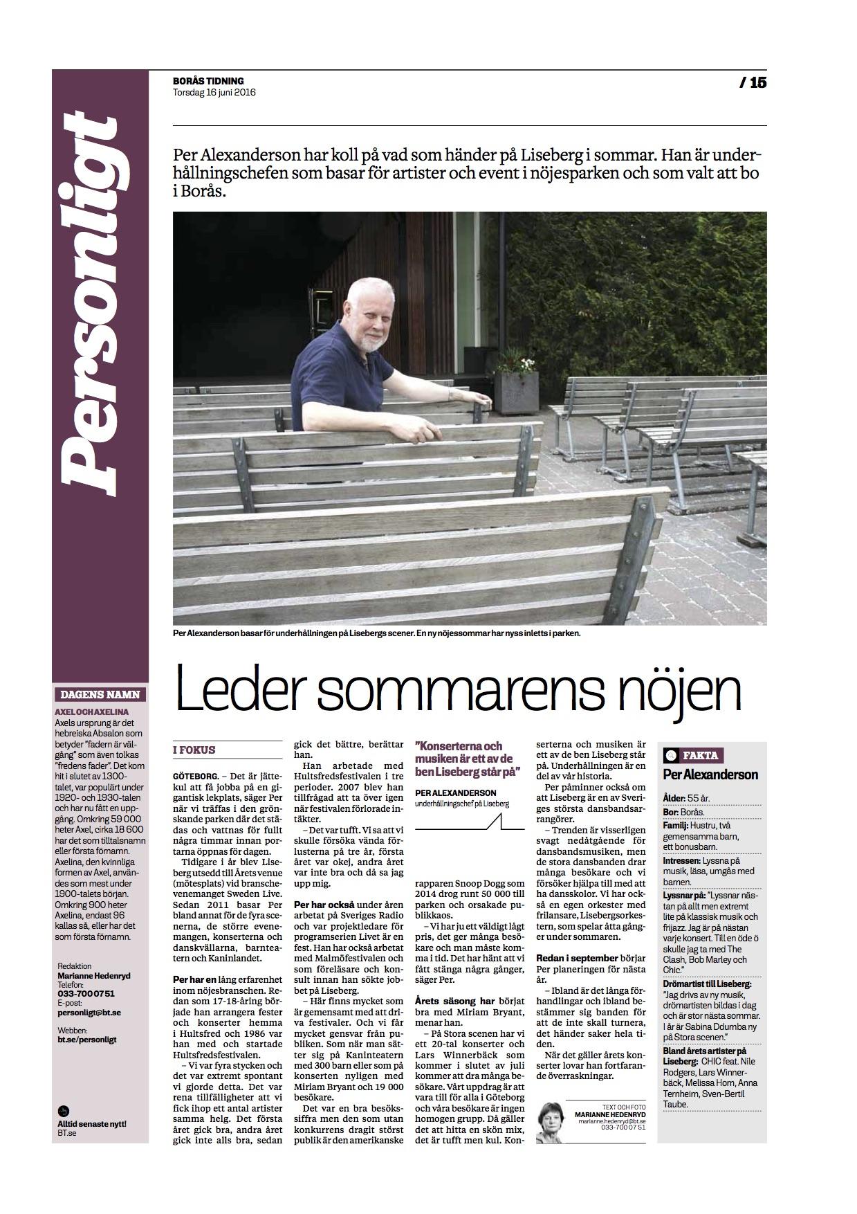 Borås tidning intervju - Per Alexanderson.jpg