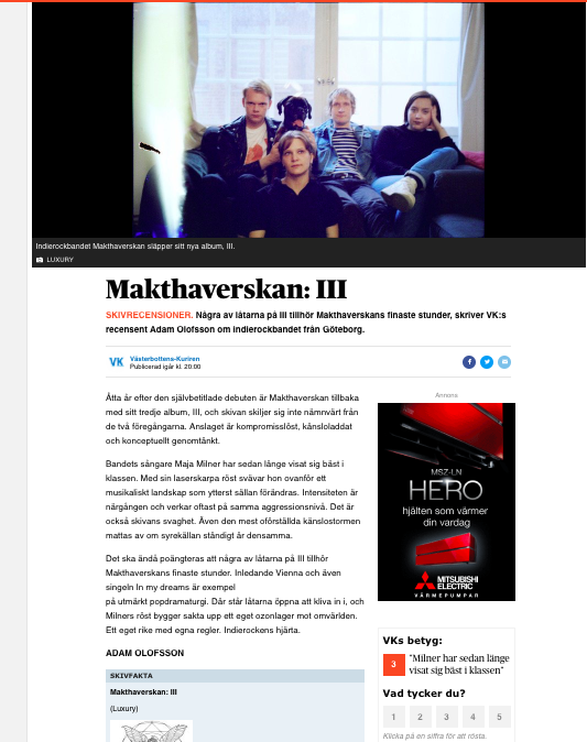 Makthaverskan VK recension.png