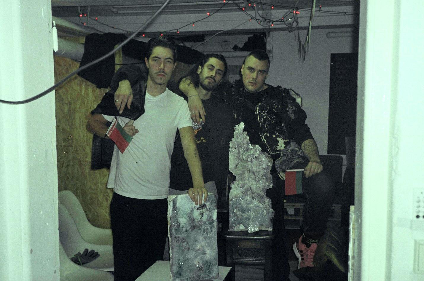Anton Hellström, Filip Aladdin och Ossian Melin (foto:Emma Khanafer)