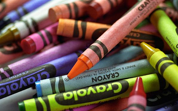 Crayola crayons. ©Stephenie Koerne