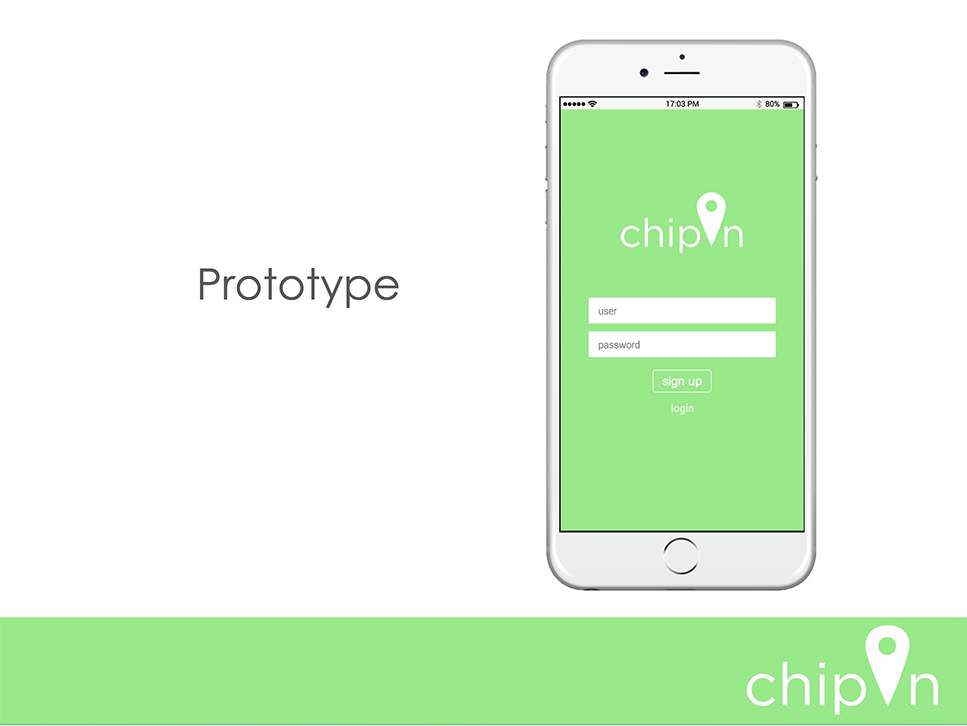 ChipIn, Mobile App Design
