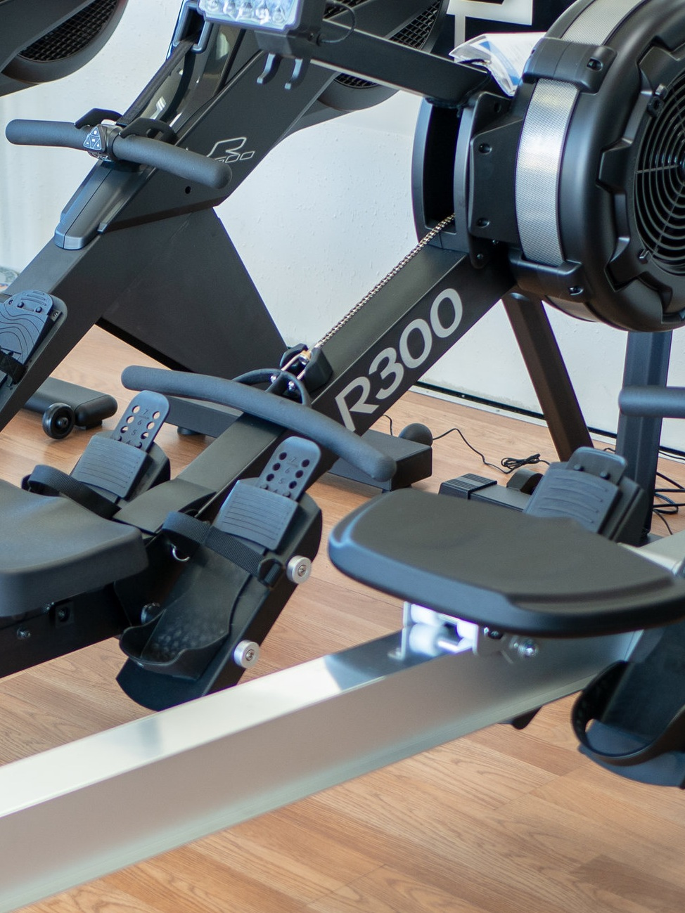A few of our rowers in our showroom (we have several)