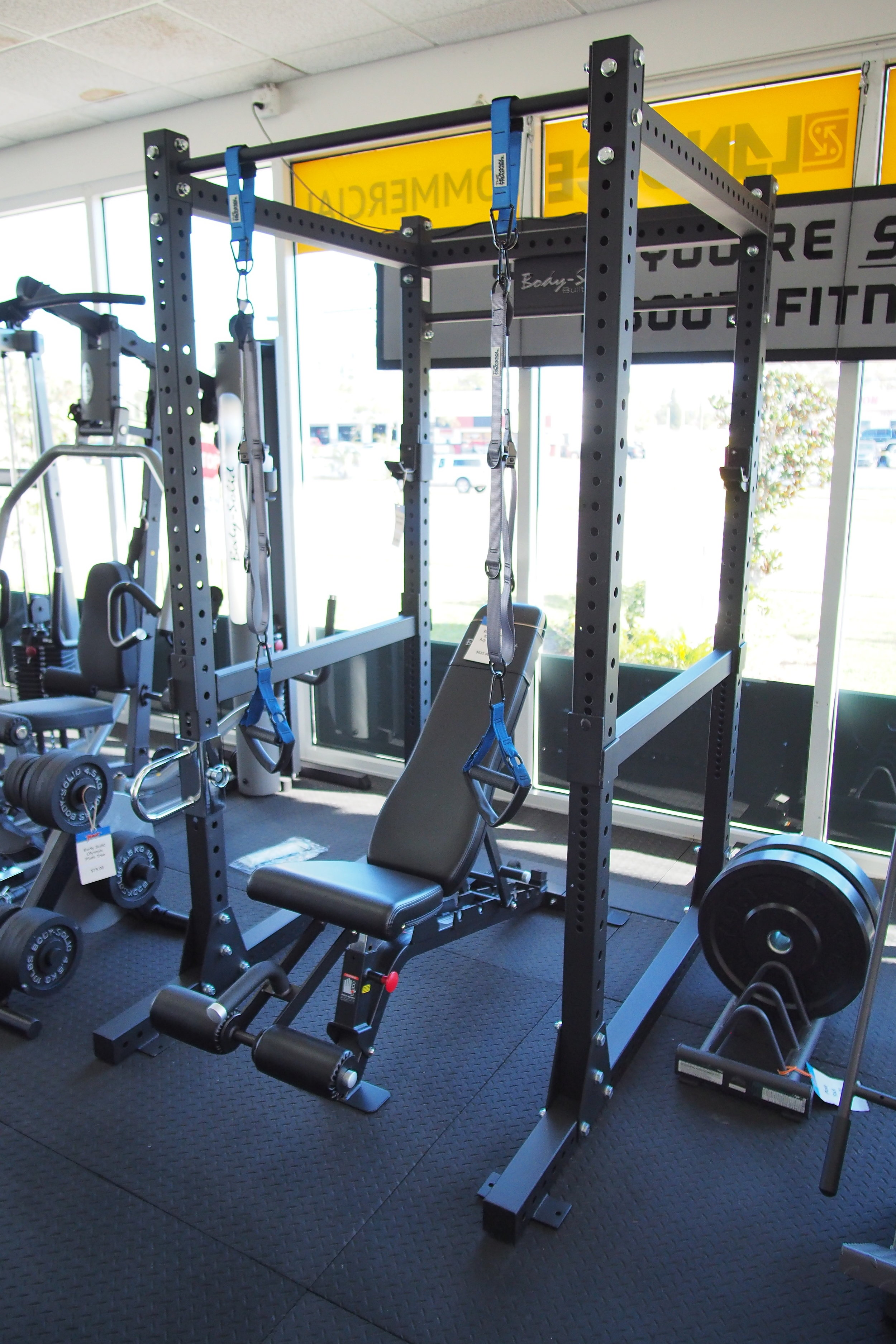 Power Racks, Benches