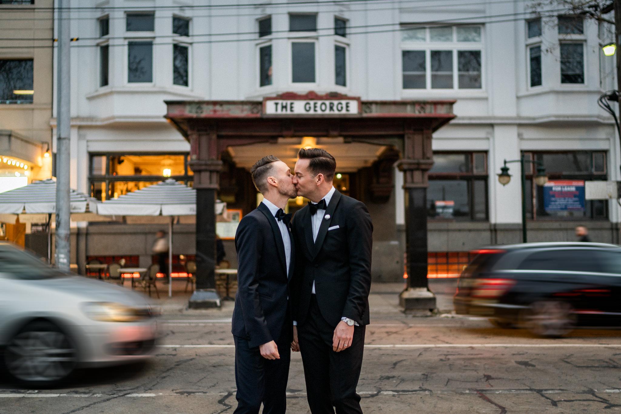 Corey Wright George Ballroom Melbourne Same Sex Wedding Photography_001