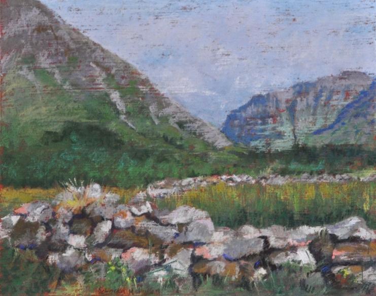 Stone Wall - Glen Coe