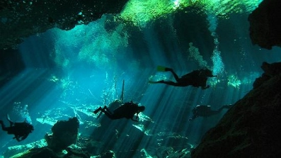 Cenotes Dive - Note: This is an overhead environment, it is not recommend if you are not comfortable diving in this type of environment.