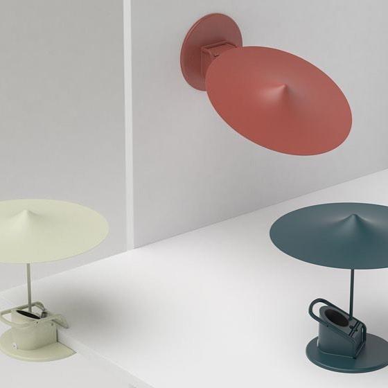 Clip Lamps by Inga Sempé #atdesignpub