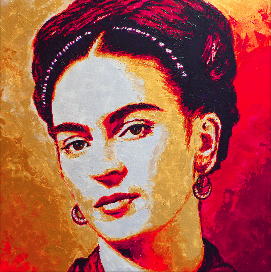 Frida Kahlo by HAVI
