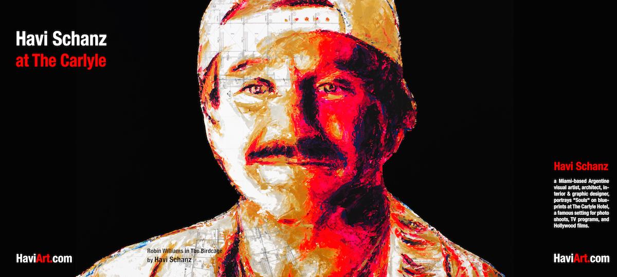 Robin Williams in The Birdcage by Havi Schanz