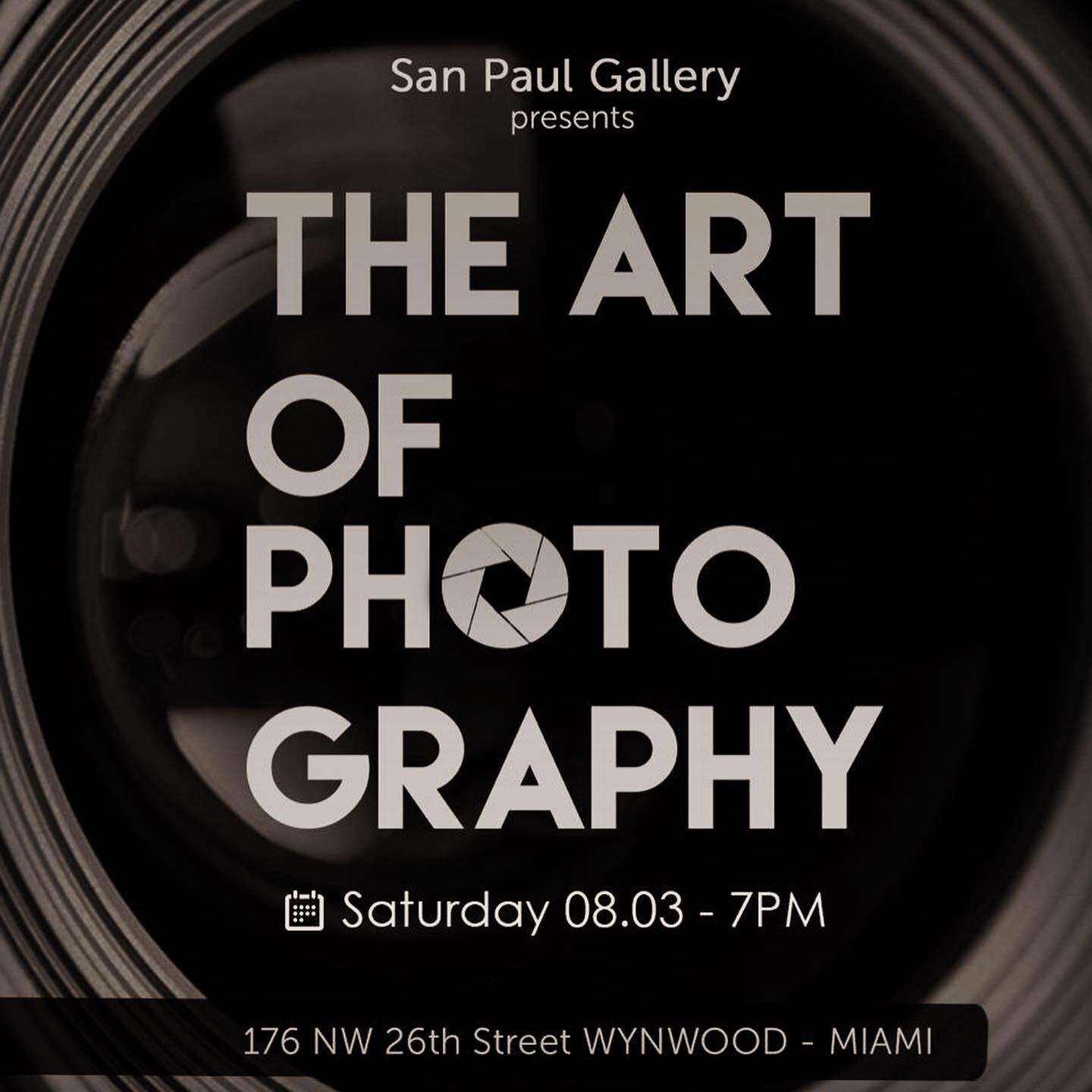 The Art of Photography at San Paul Gallery