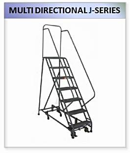 Multi-Directional Rolling Ladder