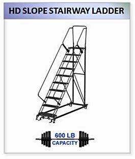HD Slope Stairway Ladder