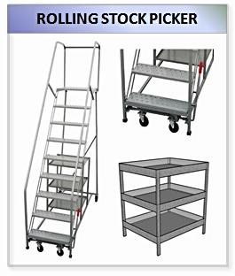 Rolling Stock Picker Ladder