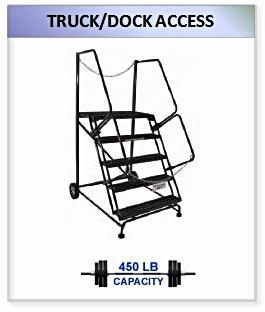 Truck Dock Access Ladder