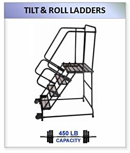 Tilt And Roll Ladder
