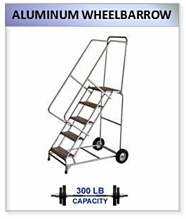 Aluminum Wheelbarrow Ladder