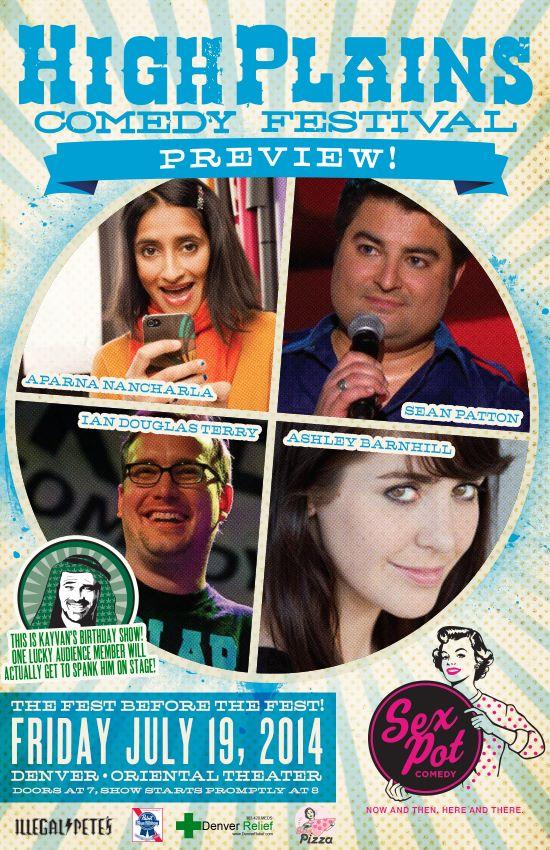 High Plains Comedy Festival Preview!