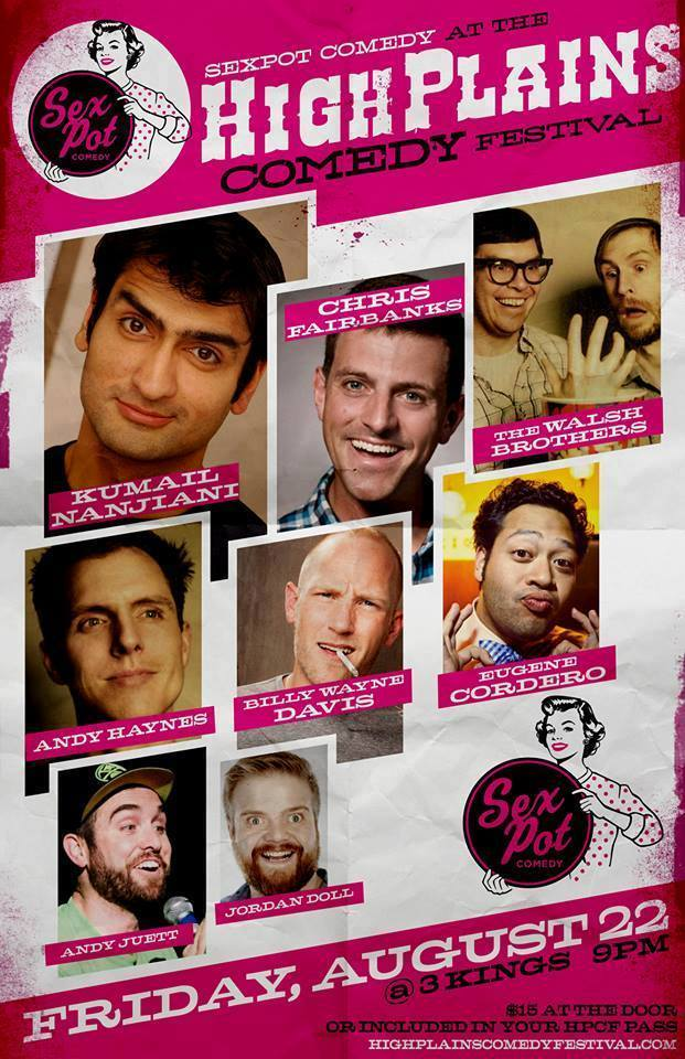 Sexpot Comedy at the High Plains Comedy Festival