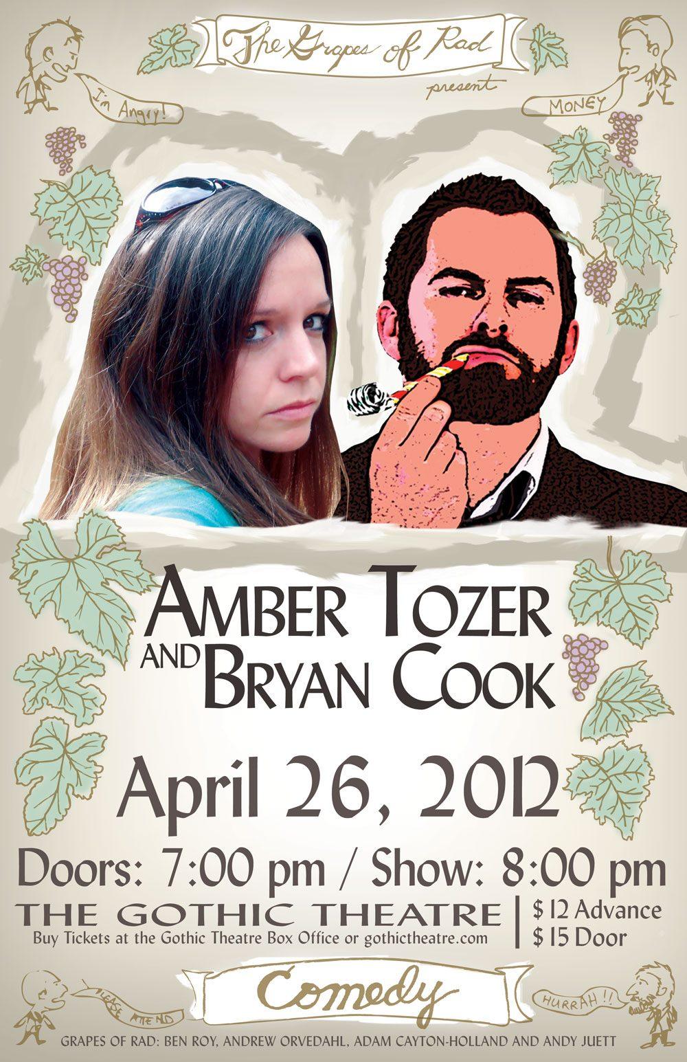 Amber Tozer & Bryan Cook