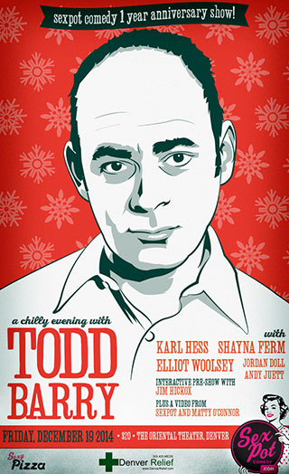 A Chilly Evening with Todd Barry