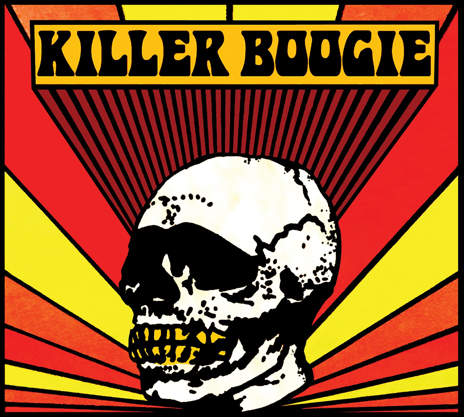 STARCADE DESIGNS FOR KILLER BOOGIE / LOGO DESIGN, FRONT COVER / ©KILLER BOOGIE        .