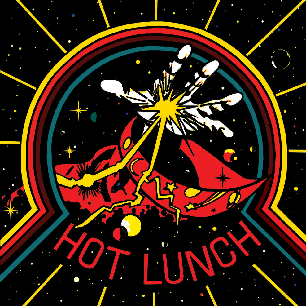 STARCADE DESIGNS FOR HOT LUNCH / DESIGN, ILLUSTRATION, FRONT COVER / ©HOT LUNCH        .