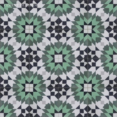 Casablanca Green Tile