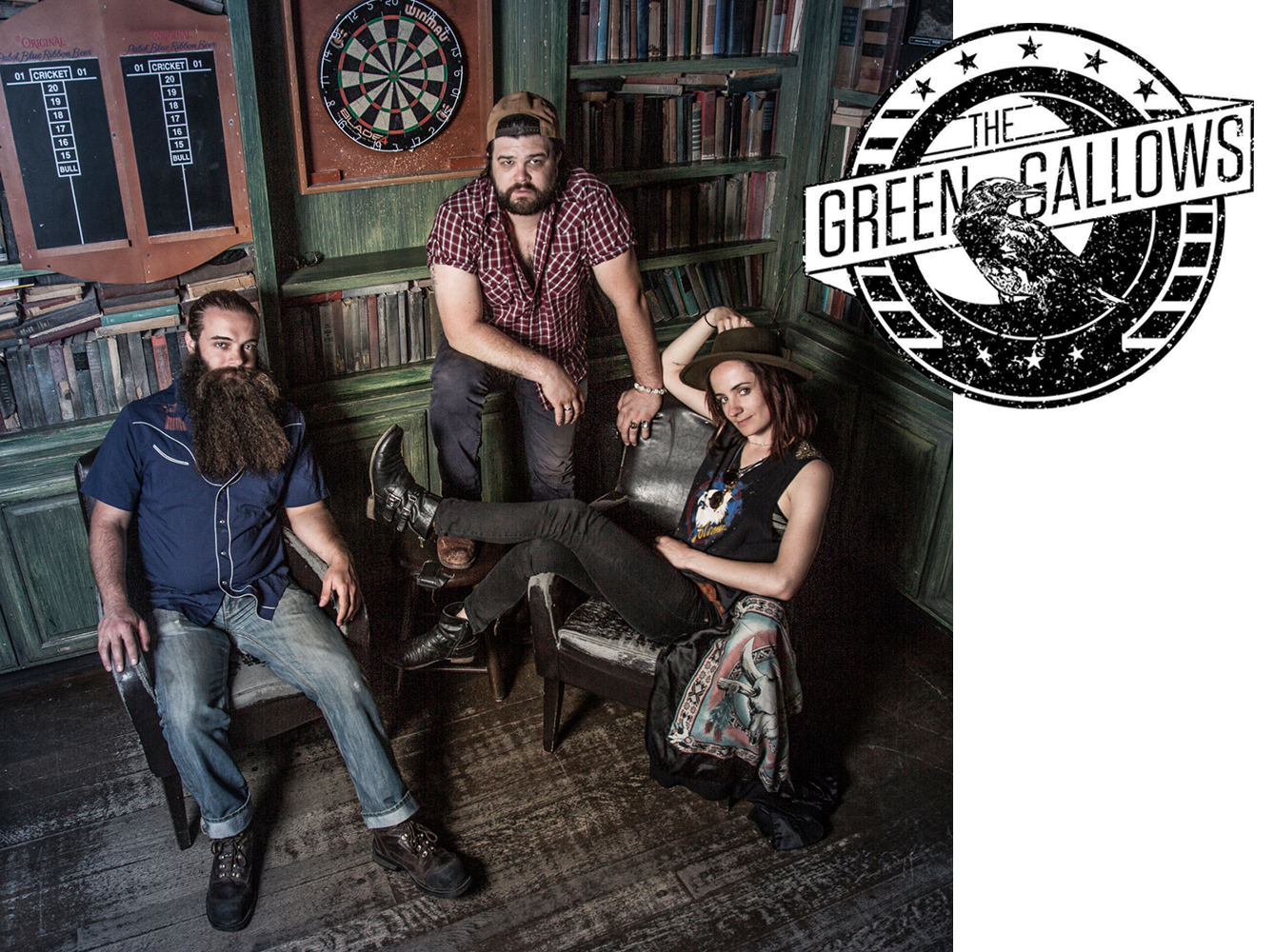 The Green Gallows  -  The Quays  - Astoria, New York - 2015
