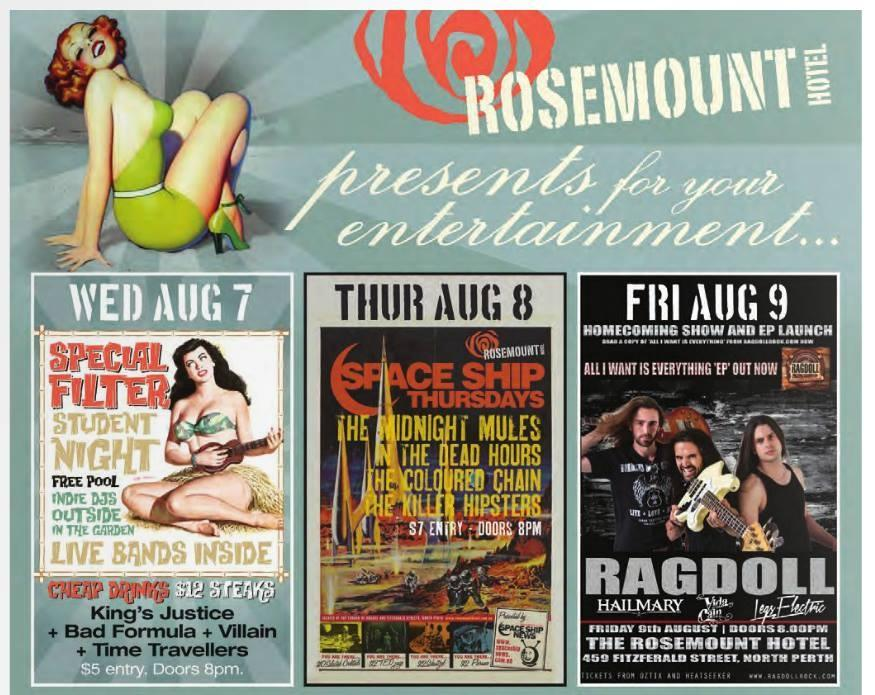 TKH Live at the Rosemount 8 August 2013