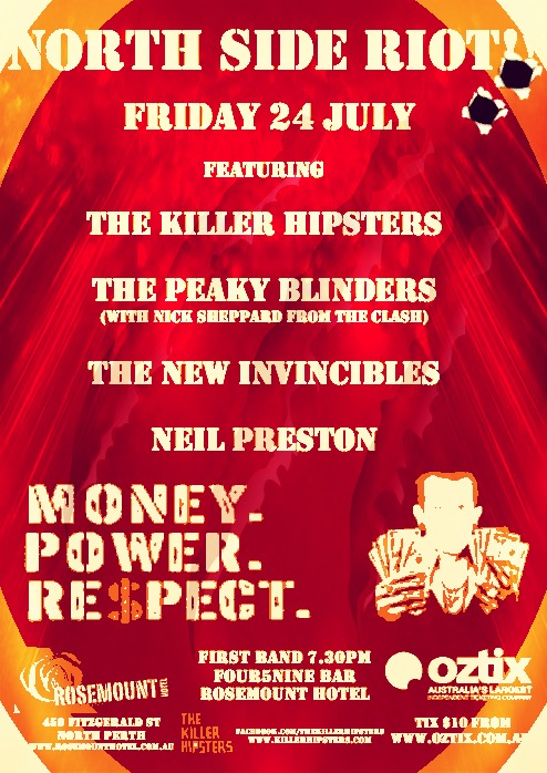The Killer Hipsters - Four5Nine Bar - Poster.jpeg