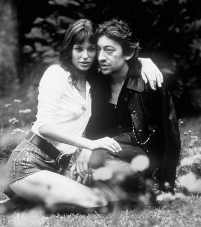 The original lovers Serge Gainsbourg and Jane Birkin