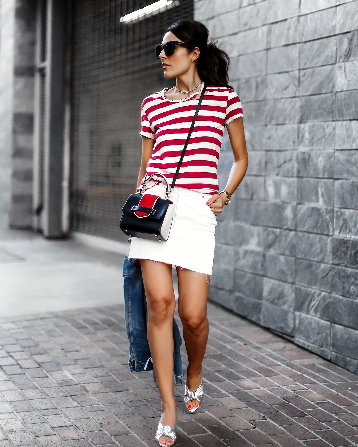 RTA_Striped_Tee_Topshop_Miniskirt_Loeffler_Randall_Silver_Mules_Fourth_of_July_Look.jpg