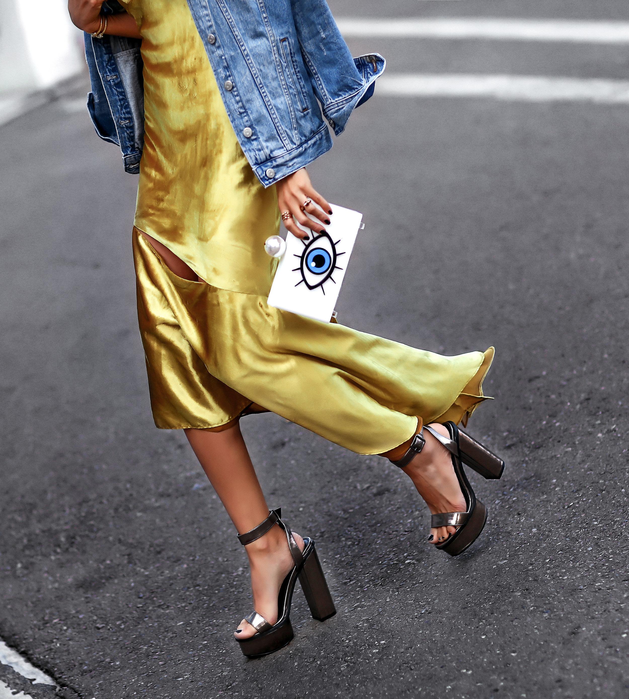 MILLY velvet dress Public desire Platforms Shoes Streetstyle.jpg
