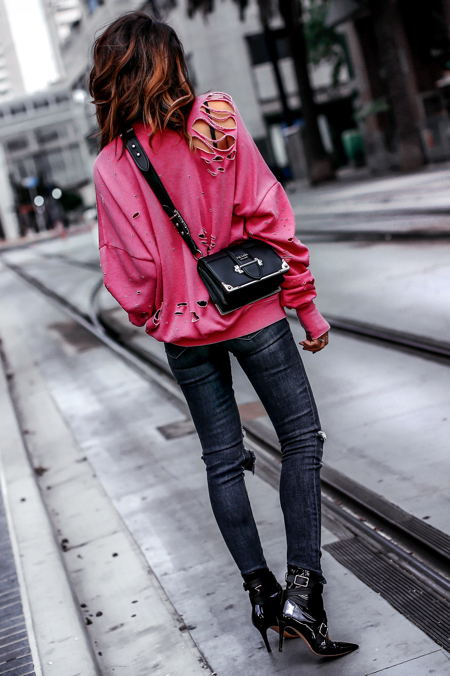 Laundry Room Distressed Sweatshirt Nordstrom Half Yearly Sale Streetstyle Fashion Blogger Prada Cahier.jpg