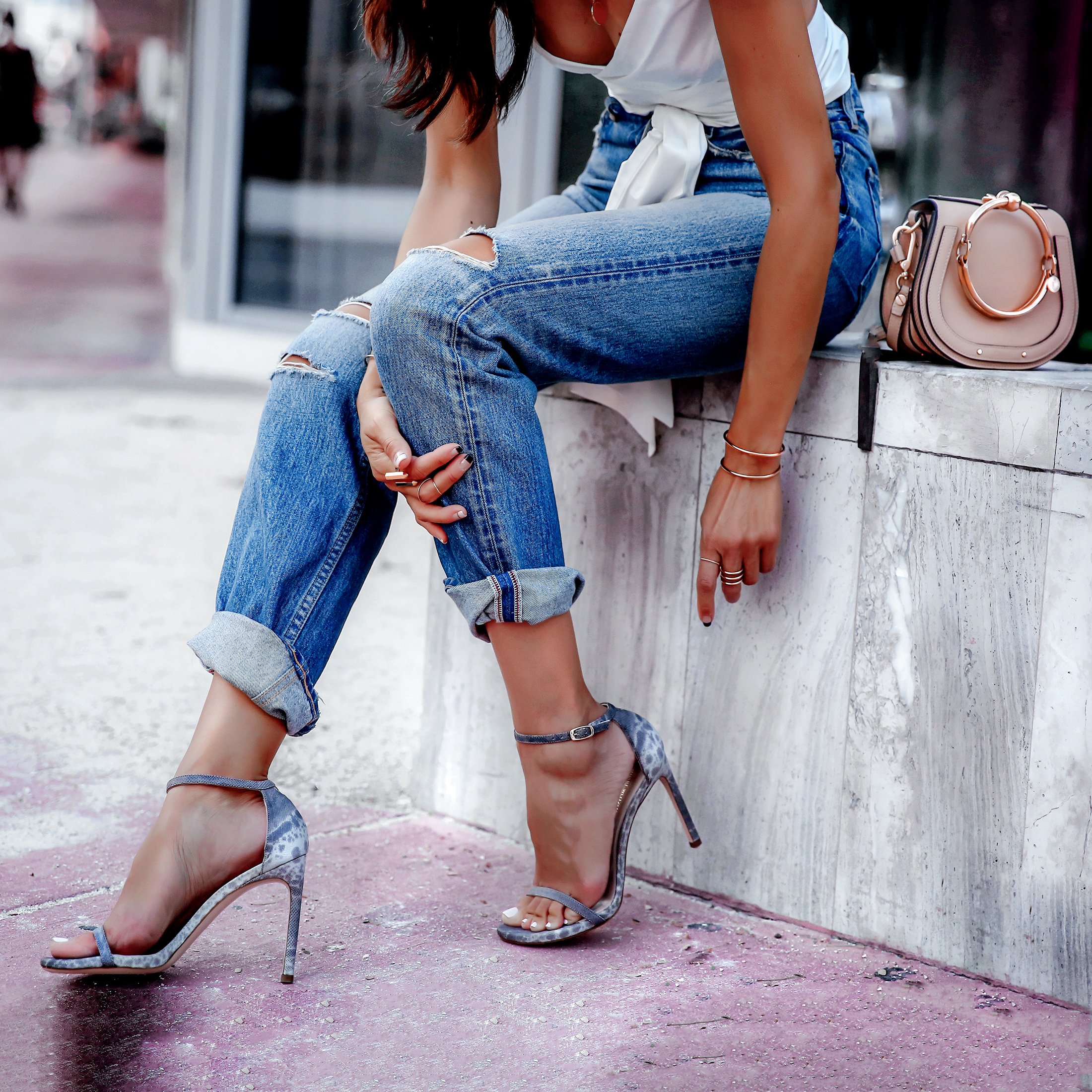 Stuart Weitzman Nudist Song Sandals Moussey Jeans Milly Top Miami Streetstyle Lucys Whims Blogger.jpg