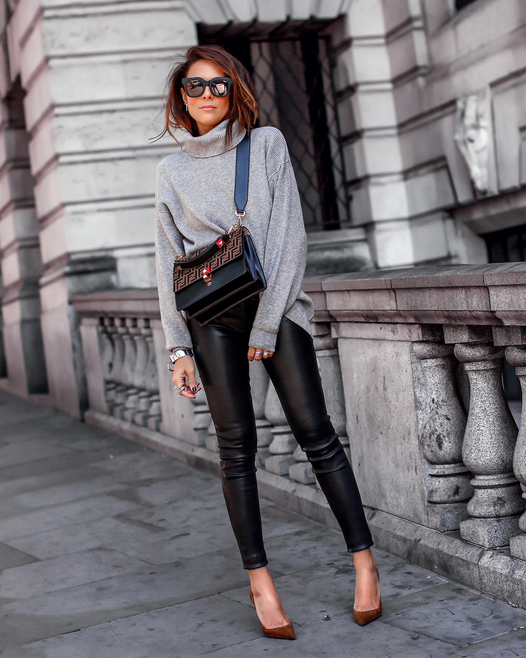 Brunette Woman Standing in London
