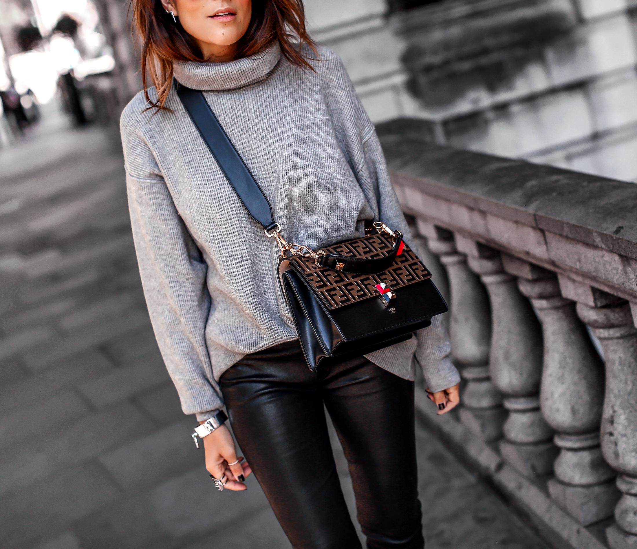 Brunette Woman Walking