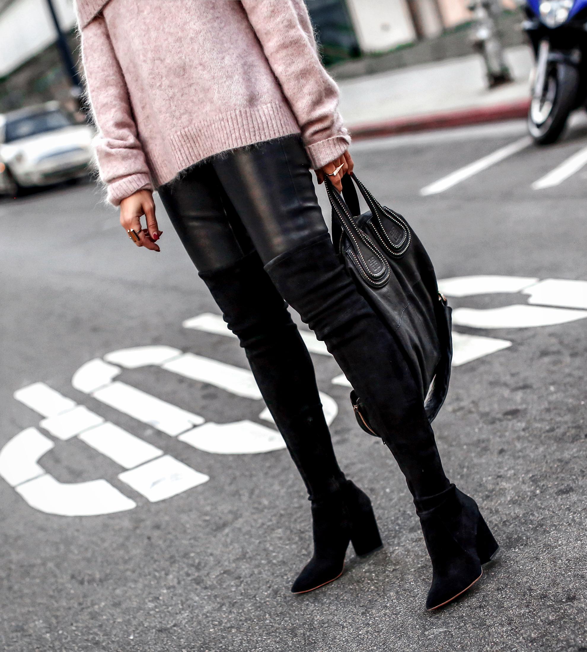 Leather Leggings OTK Boots