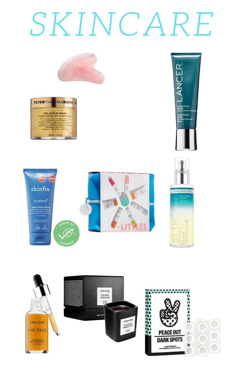 Sephora Skincare Favorite Products