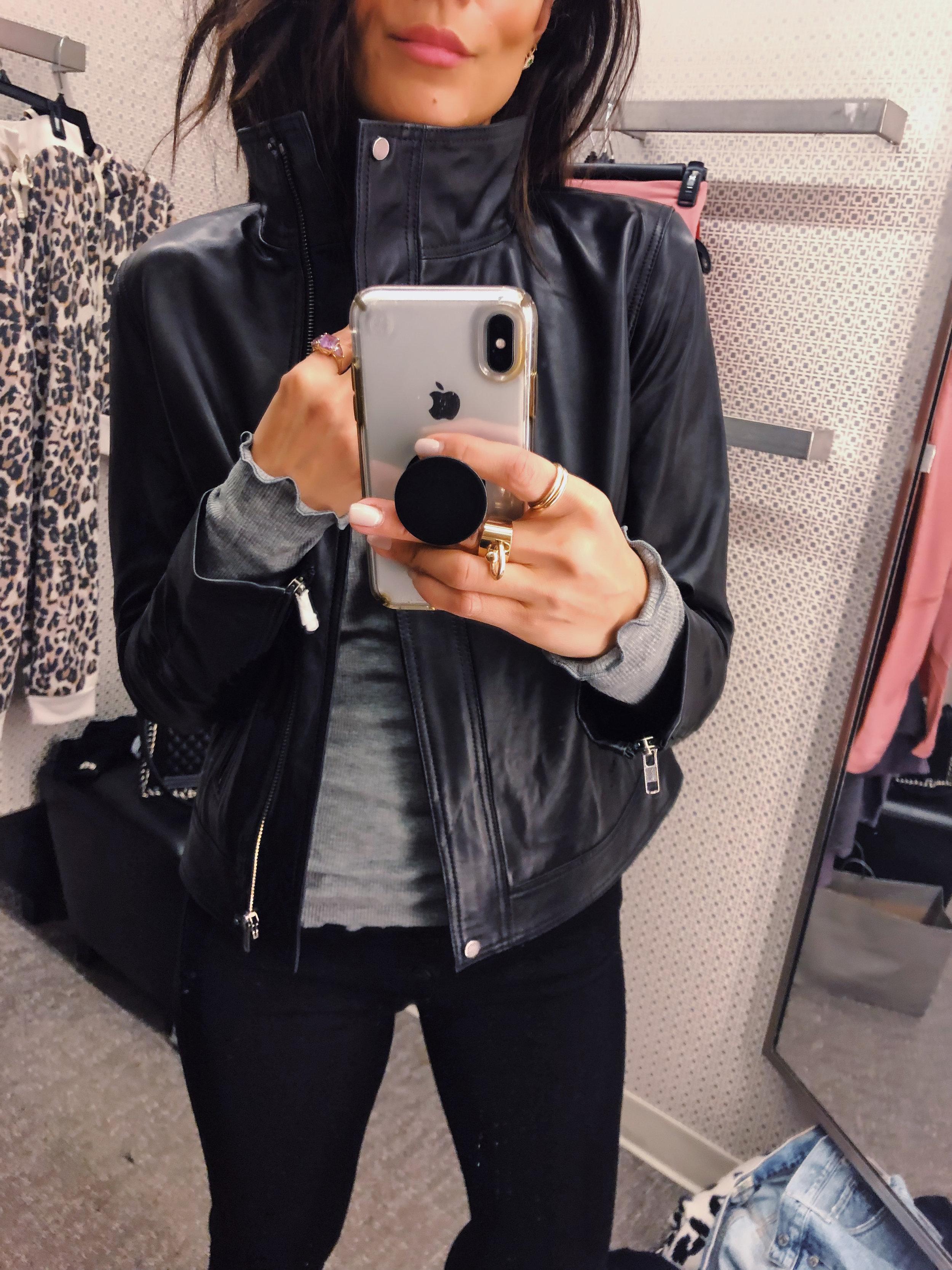 Wearing XS Jacket