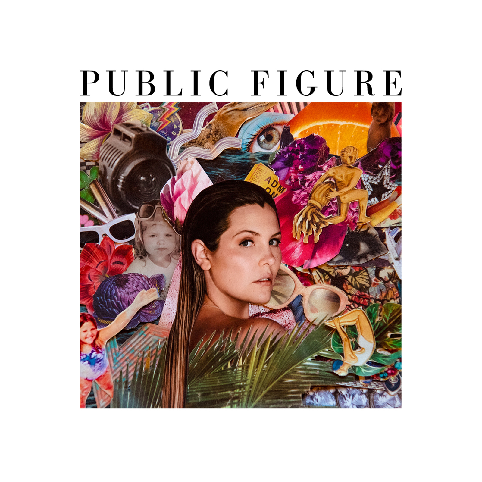 Public Figure Album Art Collage by V Blackburn