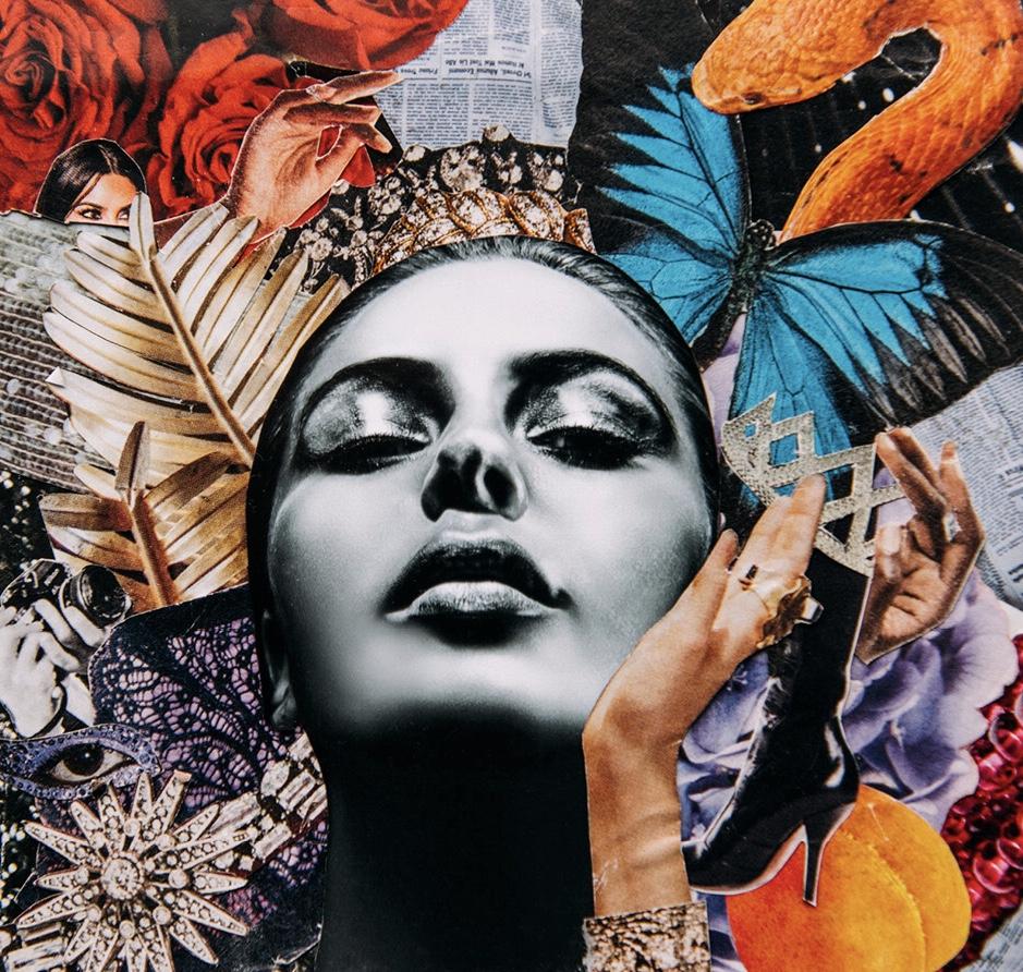 """Kim Kardashian"" Single Art by V Blackburn"