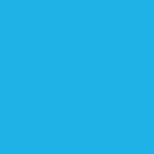 Pantone 298 U  HEX: #1eb2e7 RGB: 30, 178, 231 CMYK: 69, 10, 0, 0