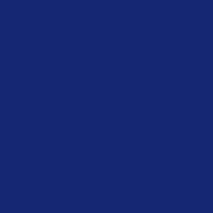Blue  HEX: #142770 RGB: 20, 39, 112 CMYK: 100, 96, 25, 15
