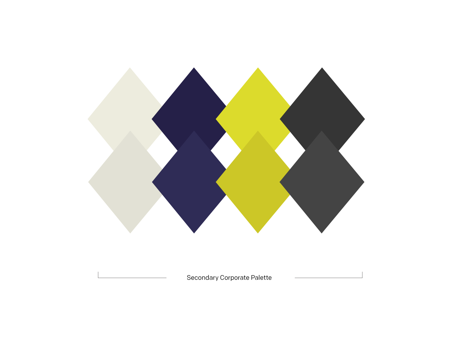 Secondary Corporate Palette -  see detailed colour breakdown here