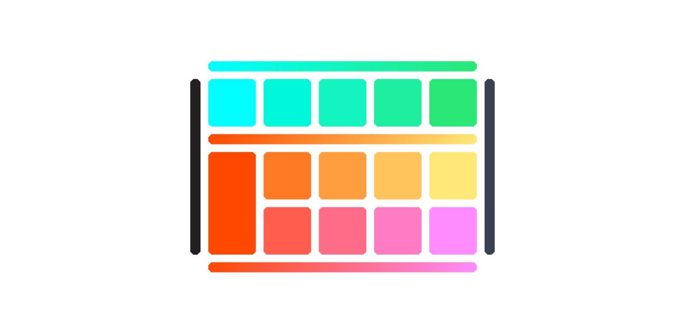 Full Palette -  see detailed colour breakdown here