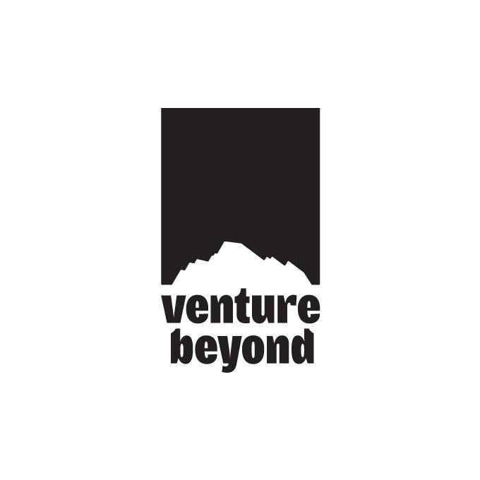 Venture Beyond Tag  Black    .png    .eps